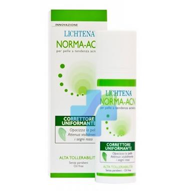 Lichtena Linea NORMA ACN Correttore Uniformante Purificante Viso 30 ml