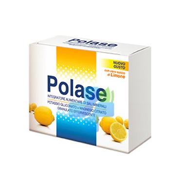 Polase Linea Sali Minerali Integratore Alimentare Granulato 12 Buste Limone