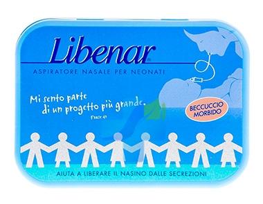 Libenar Linea Pulizia e Salute del Naso Aspiratore Nasale Bambini con 4 Ricambi