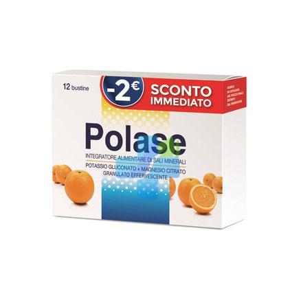 Polase Linea Sali Minerali Integratore Alimentare Granulato 12 Buste Arancia Off